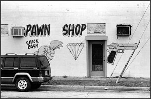 Old Pawn Shop Storefront